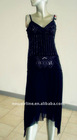 2011 fashion evening dress with sequins on it