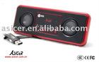 Portable USB mobile card-plug mini speaker with FM