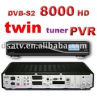 receiver 8000hd satellite receiver 8000 hd TWIN TUNER DVB-S PVR