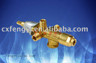 Safety High quality brass gas heater valve with ISO