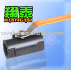 Carbon Steel Bar Stock Ball Valve [Type: 1pc bar stock],[Material:Carbon],[Pressure:800psi],[Thread:BSP,BSPT,NPT]
