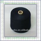 Black color 100%polyester spun yarn 20s
