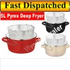Porcelain Enamel Nonstick deep frying chip pan