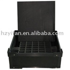 2012 new style plastic transport ESD / Anti-Static / Conductive Container box Automotive Parts Container(YF7032)