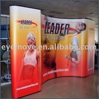 Poster backdrop pop up stand display