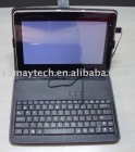 Protect Leather case for 10 inch with keyboard and stylus pen