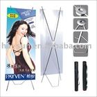 HS outdoor banner stand display