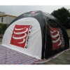 black inflatable airtight tent, inflatable outdoor tent