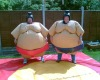 durable and funny inflatable sumo wrestler costume for sales