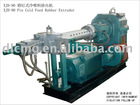 Pin type Cold feed rubber extruder