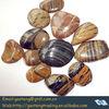 strip pebble stone for sale (color pebbles for garden,bathroom decoration)