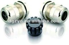 Flat-Hole brass cable glands with various types