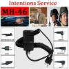 The bestseller handheld wired walkie talkie speaker microphone (MH-46)