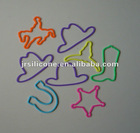 2012 Cartoon super elastic kids silicone rubber bands