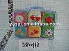 plush fuzzy dice/plush dice toy/soft toy dice