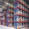 Warehouse selective rack pallet rack