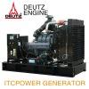 itcpower DEUTZ generator, open type,344kva generator