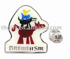 Animal metal lapel pins/badge