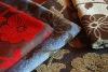 sofa fabric (linen/cotton/polyester)chenille jacquard sofa fabric
