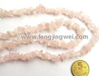 pink crystal beads, stone gravel | jewelry beads accessory
