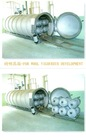 Stainless steel silk yarn and rayon conditioning steamer