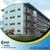 Four storey prefabricated house for labor camp