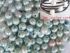 9-10mm light blue freshwater pearl beads loose beads with 2mm hole