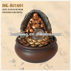 Gold buddha statue fountain BK-BJ1601 for indoor