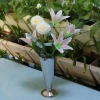 FO-9121 Stainless steel flower vase,tableware decorative vase,metal flower vase