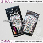 2013 hot sell nail polish strips nail polish sticker nail patch sticker