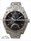 Fashion Firstime Charm Stainless Steel Multifunction Quartz Watch