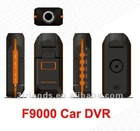Hot Sell~!F9000 1080P car dvr recorder with 110 degree lens + HDMI + H.264