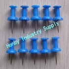 23mm Map Marking Bule Color Handle Shape Push Pin