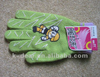 girls nice printing gloves
