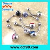 Metal Tongue Rings Steel Bars Barbells Funny Nasty Wording Logo