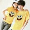 new design 100% cotton fashion couples T-shirts