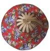 foldable fan hat