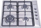 4 burners stainless steel gas Hobs