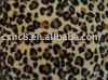 100% polyester Shu Velveteen with animal print series