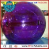 purple color inflatable water ball