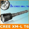 3000 Lumens 3x CREE XML T6 LED Flashlight / Torch