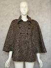 ladies bat sleeve wool coat(136)