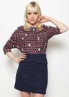 Women's Adora Navy Skirt 3389