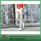 white cotton Casual Men Pants