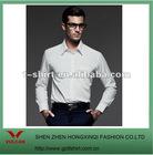 100% cotton top quality white color long sleeve men's uniform shirt