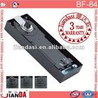 Heavy machine cylinder floor hinge for glass and wooden door JU-90