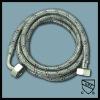 Flexible stainless steel braided washing machine hose