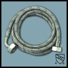 Flexible stainless steel braided washing machine hose