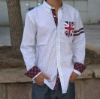 2012 hot mens latest design long sleeve shirt