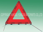 high visibility road safety triangle